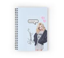 "Hyuna ""Crazy"" Spiral Notebook"