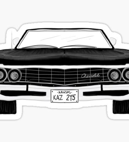 1967 Chevy Impala Sticker
