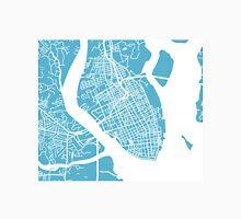 Charleston, SC Map - Baby Blue Unisex T-Shirt