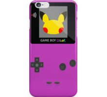 Pikachu Game Boy iPhone Case/Skin