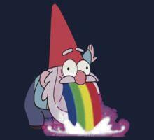 Gravity Falls- Barfing Gnome Kids Tee