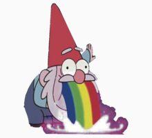 Gravity Falls- Barfing Gnome Baby Tee