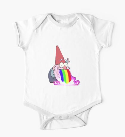 Gravity Falls- Barfing Gnome One Piece - Short Sleeve