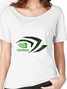 Nvidia Logo Women's Relaxed Fit T-Shirt