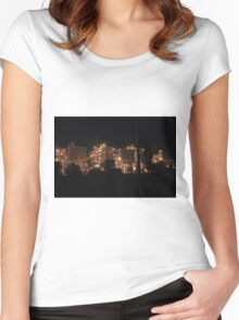 Power Plant Women's Fitted Scoop T-Shirt