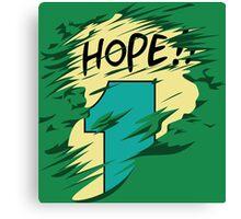 Hope!! Canvas Print