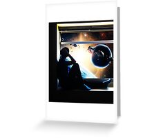 Spaced Out Greeting Card