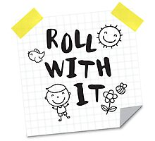 Roll with IT Photographic Print