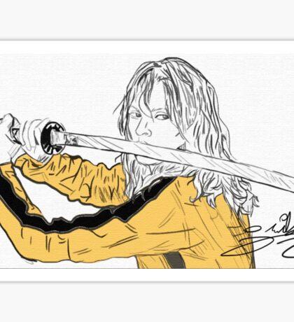 Kill Bill- The Bride Sticker