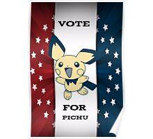 Vote For Pichu Poster