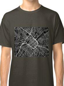 Charlotte Map - Black Classic T-Shirt