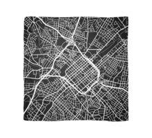 Charlotte Map - Black Scarf