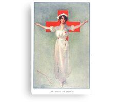 Angel of Mercy Canvas Print