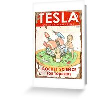 Tesla (Issue 3) Greeting Card