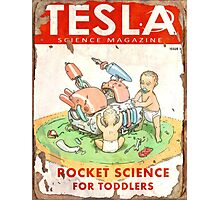 Tesla (Issue 3) Photographic Print