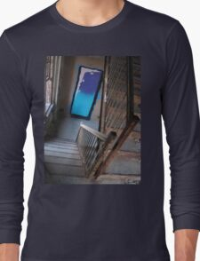 staircase of dreams abandoned Long Sleeve T-Shirt