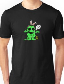 """I'm a Bunny"" Confused Dragon Unisex T-Shirt"