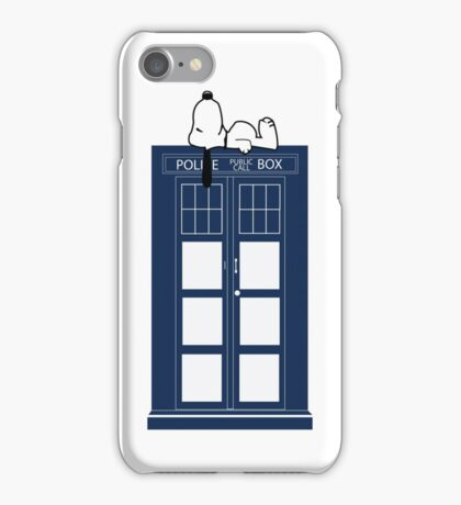 Snoopy / Dr. Who iPhone Case/Skin