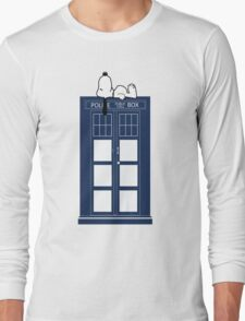 Snoopy / Dr. Who Long Sleeve T-Shirt