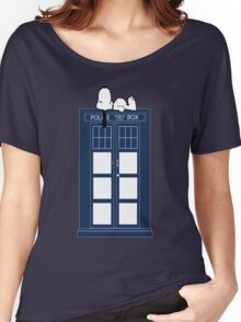 Snoopy / Dr. Who Women's Relaxed Fit T-Shirt
