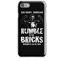 Anthony Rumble Johnson iPhone Case/Skin