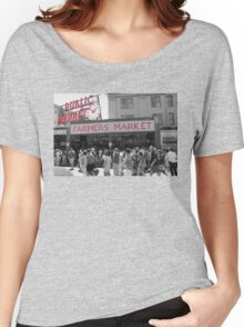 Pike Place Market Seattle Women's Relaxed Fit T-Shirt