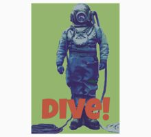 Deep Sea Diver One Piece - Short Sleeve