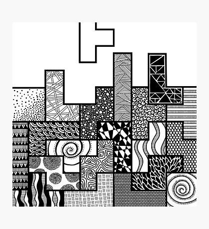 Tetris Photographic Print