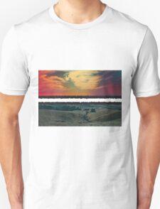 Stripe Landscape photo design by LUCILLE T-Shirt