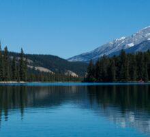 Pyramid Lake Alberta, Canada Sticker