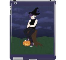spooky witch lady iPad Case/Skin