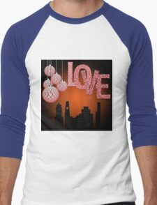 Valentine's day Men's Baseball ¾ T-Shirt