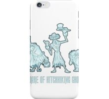 Haunted Mansion Beware of Hitchhiking Ghosts iPhone Case/Skin