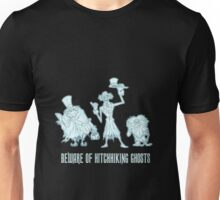 Haunted Mansion Beware of Hitchhiking Ghosts Unisex T-Shirt