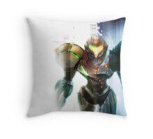 Metroid: Samus  Throw Pillow