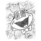Mr Toad awesome sketchwerkz by Jacob King