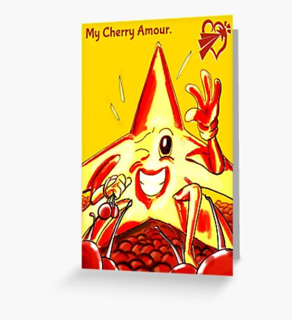 SolForce- My Cherry Amour Greeting Card