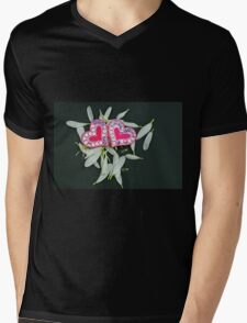 Petals with hearts Mens V-Neck T-Shirt