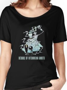 Awesome Art Hitchhiking Hosts from the Haunted Mansion Women's Relaxed Fit T-Shirt