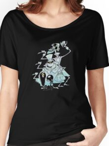 Ezra Phineas and Gus Hitchhiking Ghosts Women's Relaxed Fit T-Shirt