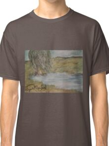 Willow On Pond Classic T-Shirt