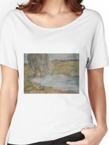 Willow On Pond Women's Relaxed Fit T-Shirt