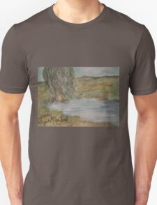 Willow On Pond Unisex T-Shirt