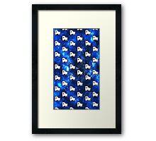 Undertale Dog  Framed Print
