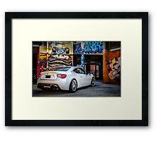 Toyota 86 GTS Parking Framed Print