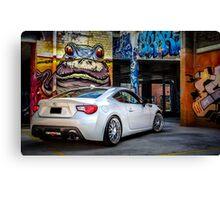 Toyota 86 GTS Parking Canvas Print
