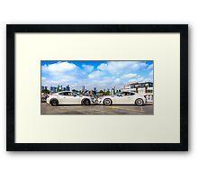 Toyota 86 GTS Mirrored Framed Print