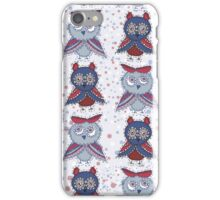 Smart owls iPhone Case/Skin