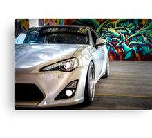 Toyota 86 GTS Parked  Canvas Print