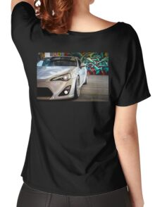 Toyota 86 GTS Parked  Women's Relaxed Fit T-Shirt